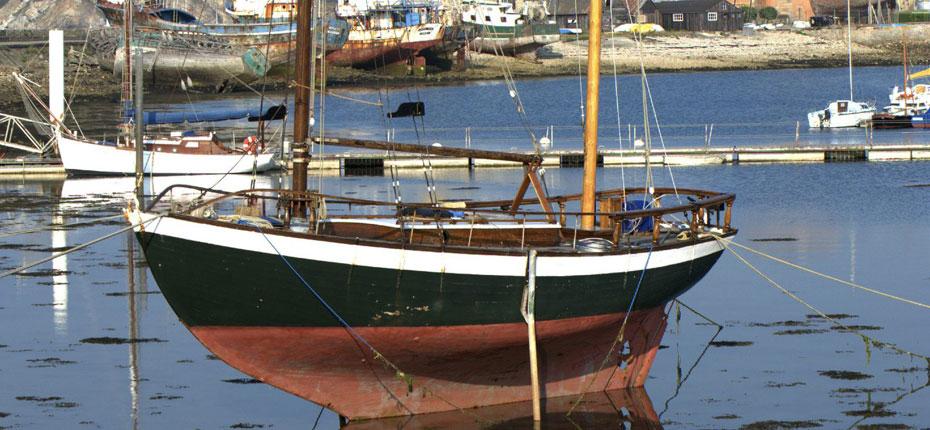 Le port de Camaret sur Mer sur la Presqu'ile de Crozon