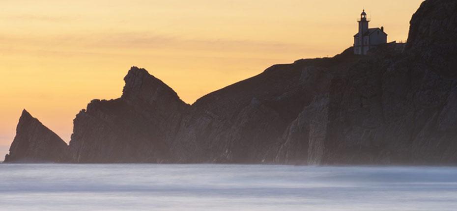 Vue de Camaret sur Mer sur la Presqu'Ile de Crozon