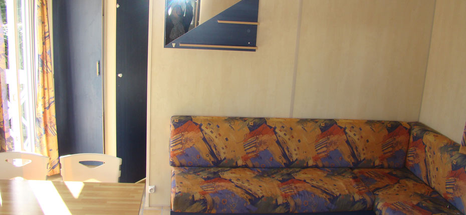 Camping avec location de mobilhome loft dans le Finistère