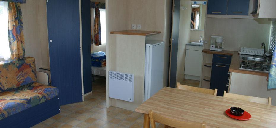 Location de mobile home à Crozon dans le Finistère
