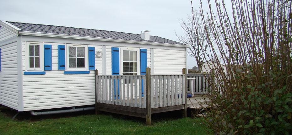 Installez vous dans votre location de mobil-home dans le Finistère en Bretagne
