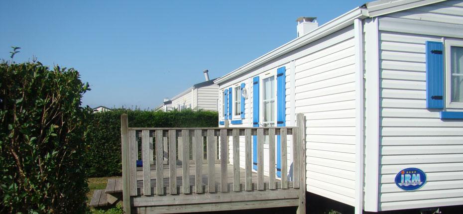 Le mobil-home bretagne 4 personnes à Crozon dans notre camping du Finistère