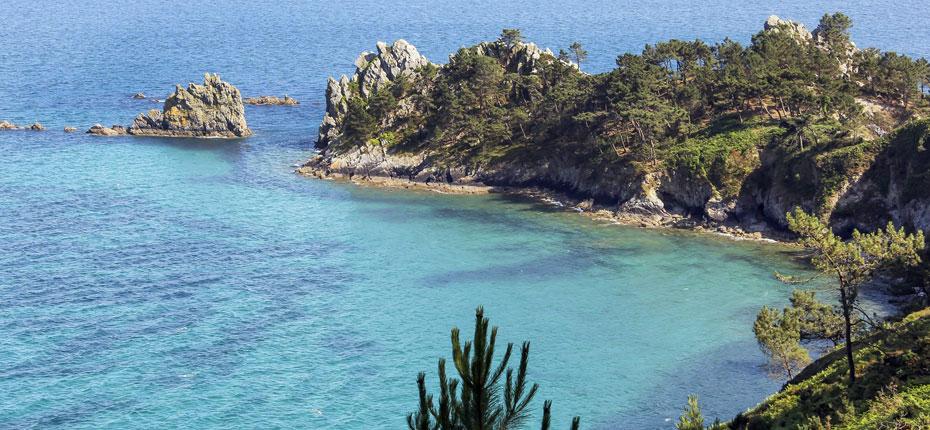En Bretagne, la presqu'Île de Crozon où est situé notre camping