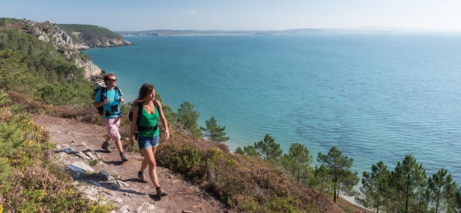 La randonnée pedestre sur la presqu'Île de Crozon